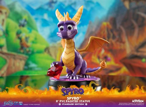 ACTIVISION - Spyro The Dragon PVC Statue - 20cm