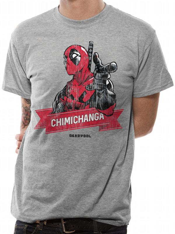 DEADPOOL - T-Shirt IN A TUBE - Chimichanga Point (S)