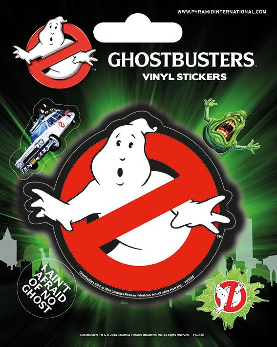 GHOSTBUSTER - Vinyl Stickers - Logo