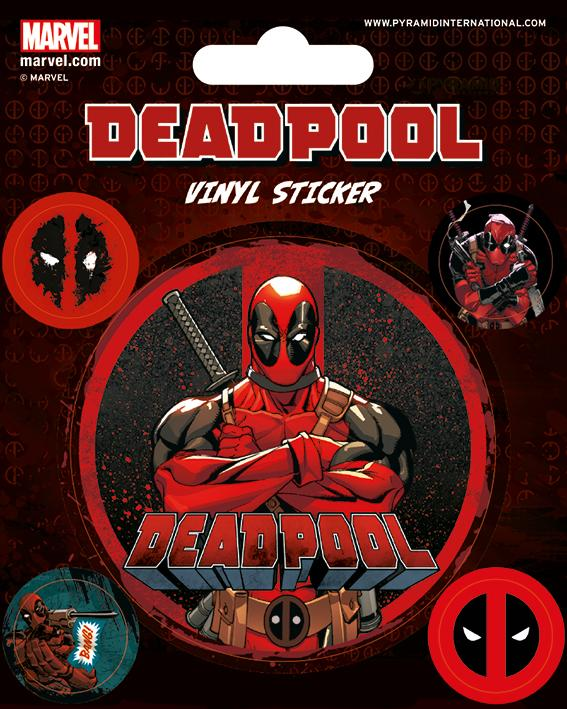 DEADPOOL - Vinyl Stickers - Deadpool