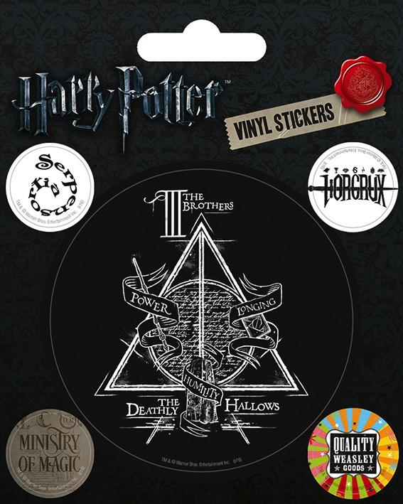 HARRY POTTER - Vinyl Stickers - Symbols