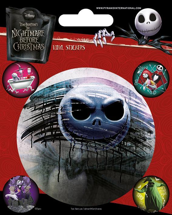NIGHTMARE BEFORE CHRISTMAS - Vinyl Stickers - Characters