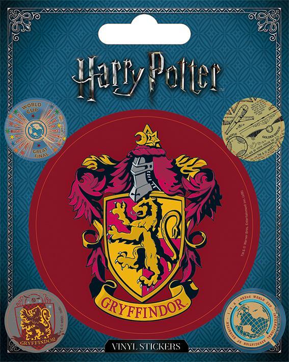 HARRY POTTER - Vinyl Stickers - Gryffindor