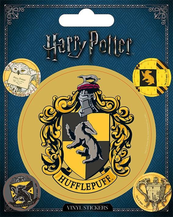 HARRY POTTER - Vinyl Stickers - Hufflepuff