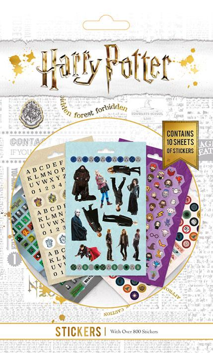 HARRY POTTER - 800 Sticker Set