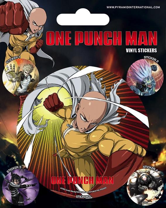 ONE PUNCH MAN - Vinyl Stickers - Characters