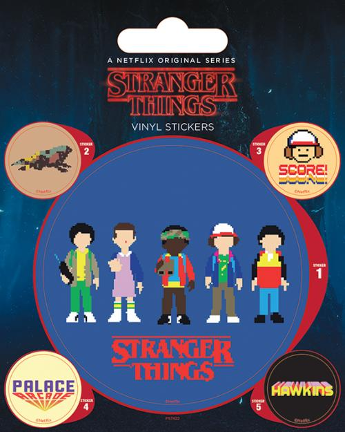 STRANGER THINGS - Arade - Stickers en vinyle