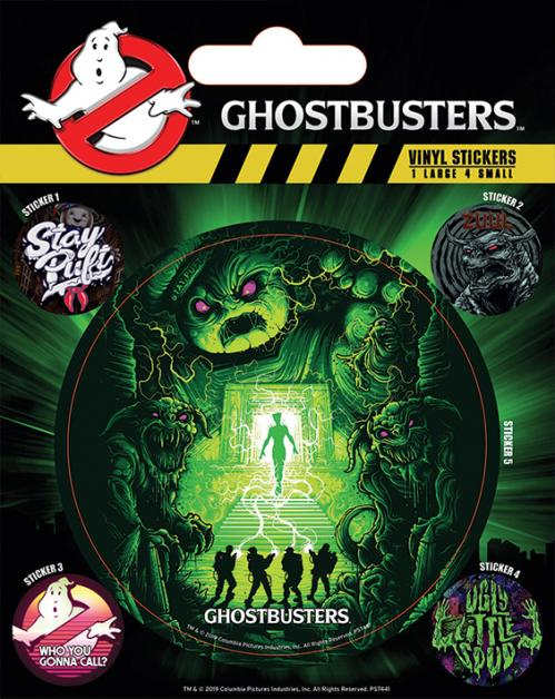 GHOSTBUSTERS - Ghosts and Ghouls - Stickers en vinyle