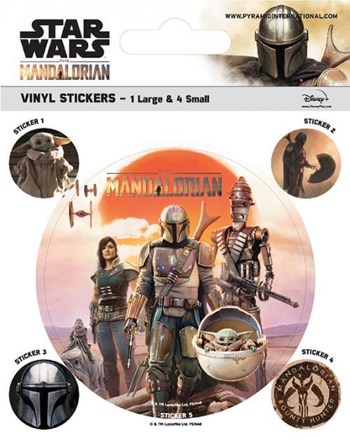 MANDALORIAN - Legacy - Stickers en vinyle