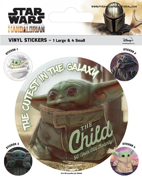 MANDALORIAN - The Child - Stickers en vinyle
