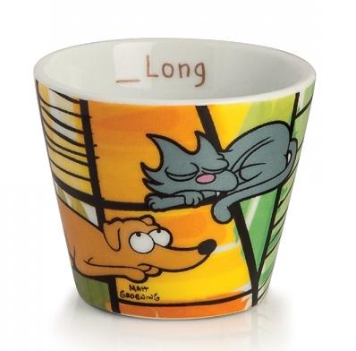 THE SIMPSONS - Expresso Mug 90 ml - Pets (Set de 2 Pcs.)