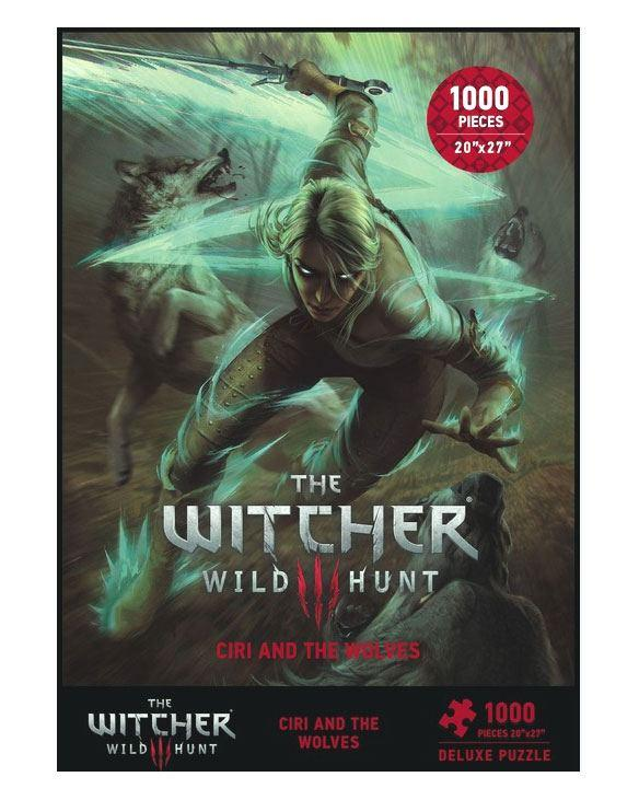 THE WITCHER 2 - Puzzle Ciri and the Wolves 1000 Pcs