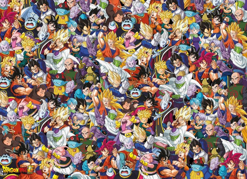 DRAGON BALL SUPER - Characters - Puzzle 1000P_2