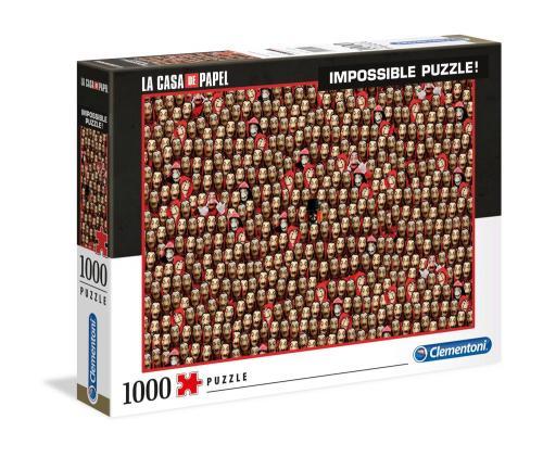 LA CASA DE PAPEL - Impossible Mask - Puzzle 1000P