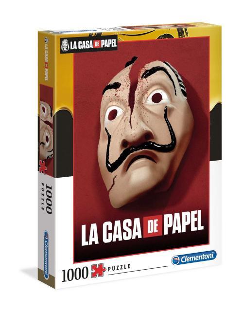 LA CASA DE PAPEL - Mask - Puzzle 1000P