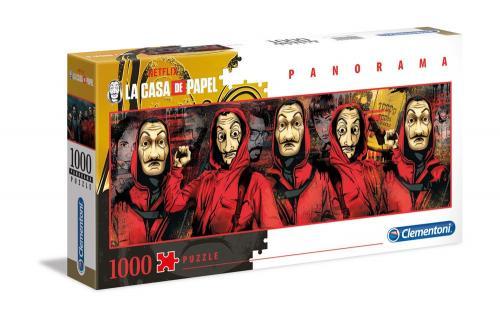 LA CASA DE PAPEL - Panorama Chracters - Puzzle 1000P