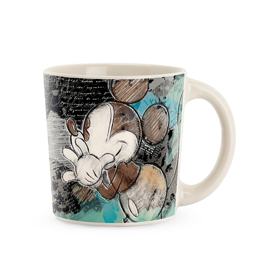 MICKEY THE TRUE ORIGINAL - Mug 390 ml - 90Th Annivers. Ivory Turquoise