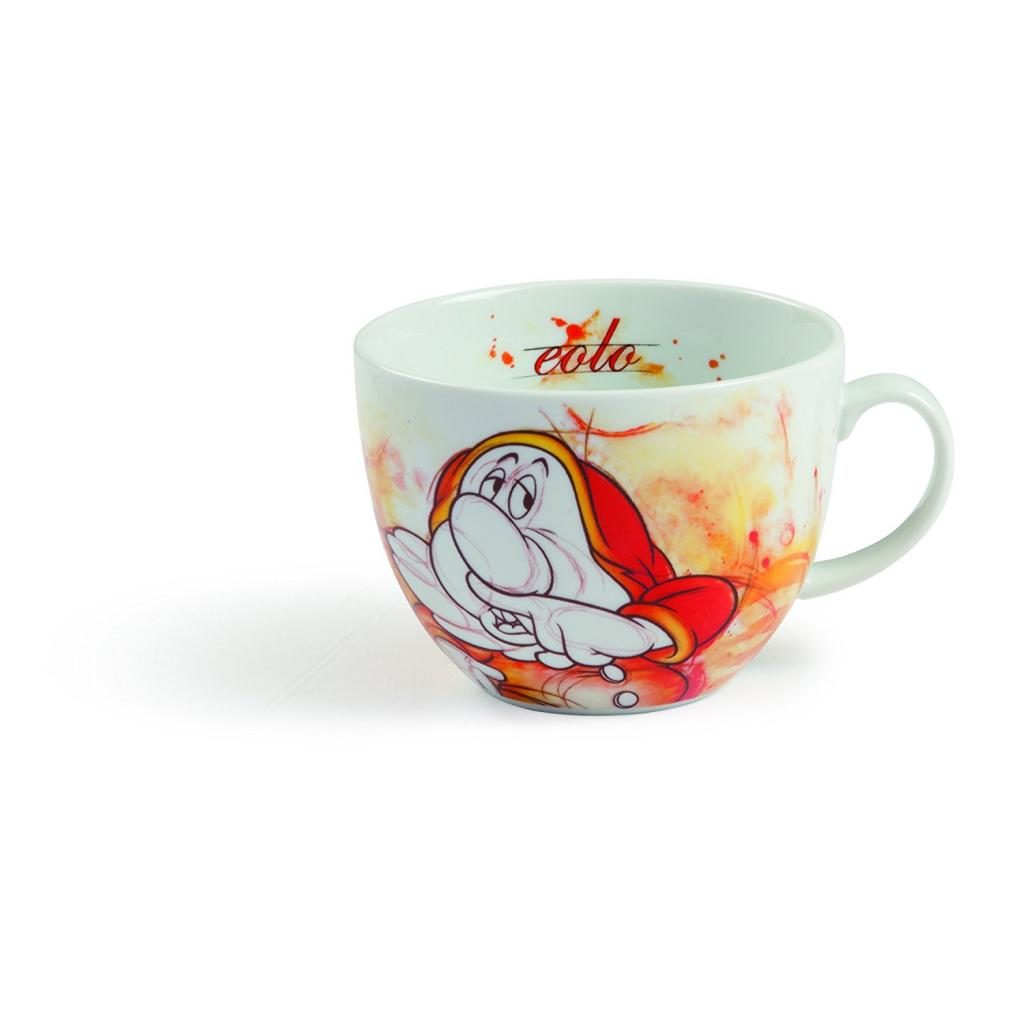 DISNEY / SEVEN DWARFS - Cappuccino Mug 600ml - Sneezy