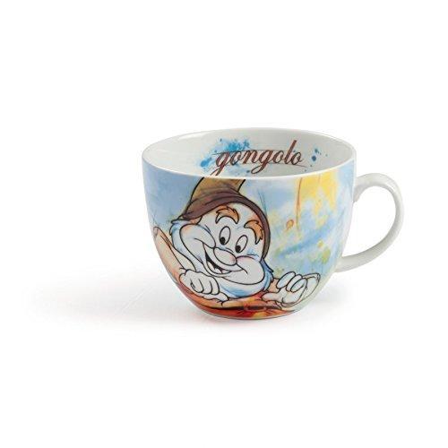 DISNEY / SEVEN DWARFS - Cappuccino Mug 600ml - Happy