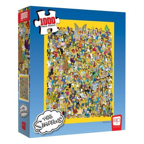 SIMPSONS - Puzzle Cast of Thousands 1000P
