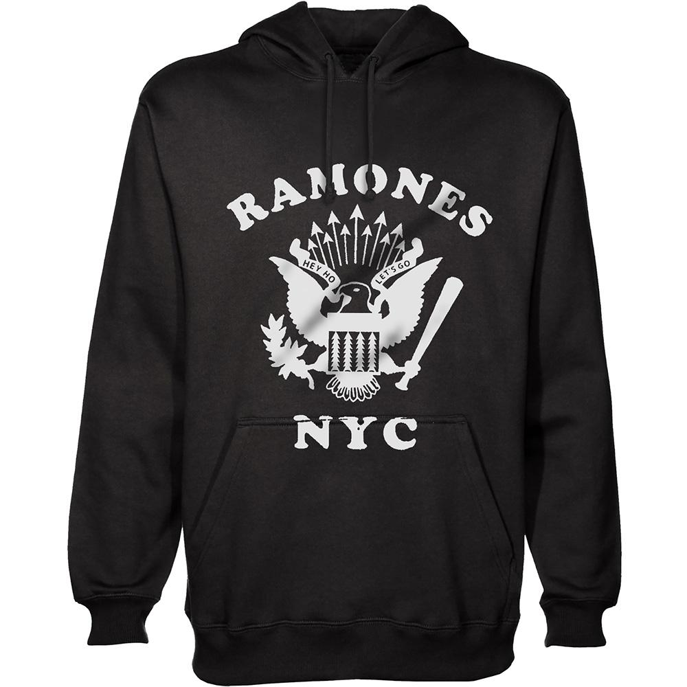 RAMONES - Sweat Hoodies - Retro Eagle NYC (L)