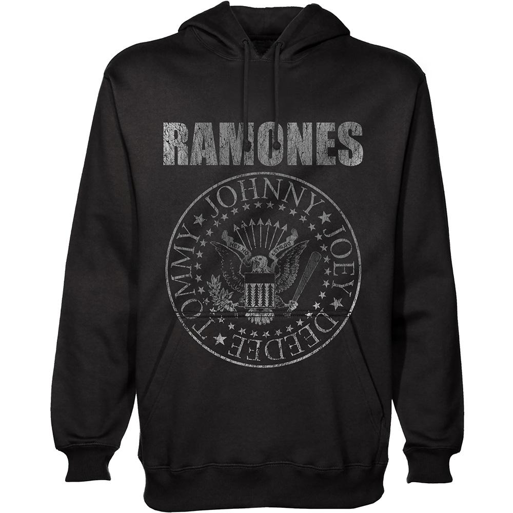 RAMONES - Sweat Hoodies - Presidential Seal (L)