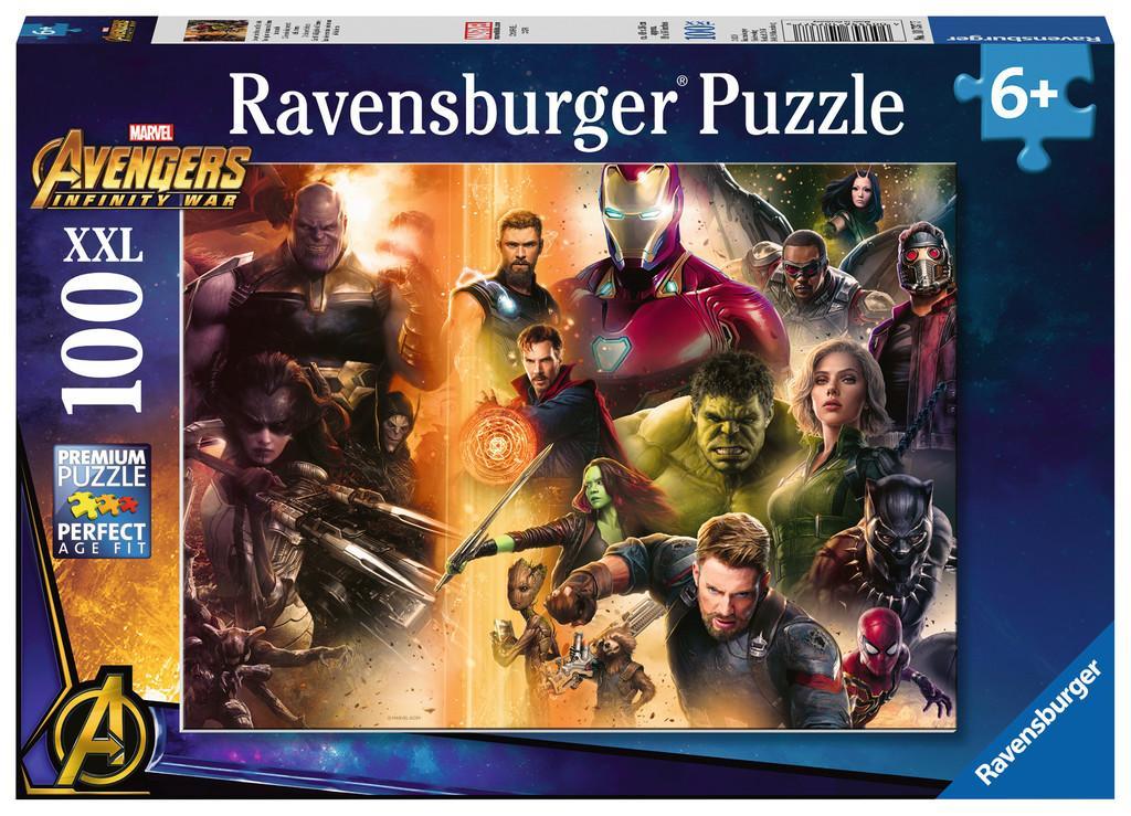 MARVEL - Puzzle 100P XXL - Avengers Infinity War