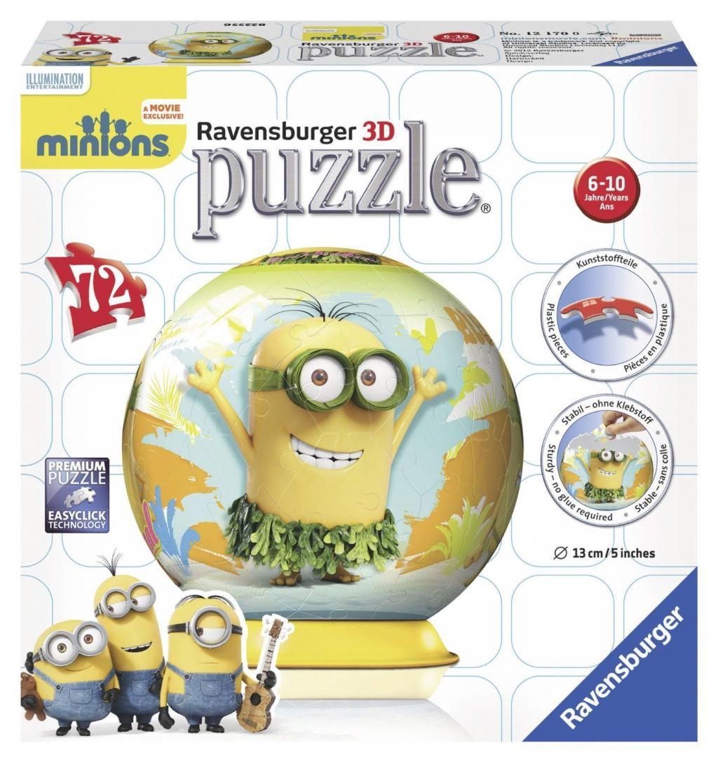 MINIONS - Puzzle 3D