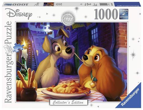 DISNEY - Puzzle Collector's Edition 1000P - La Belle et le Clochard