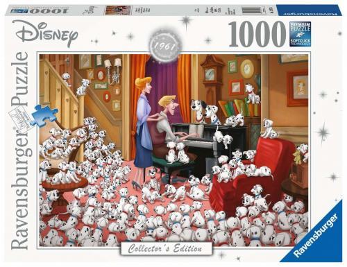 DISNEY - Puzzle Collector's Edition 1000P - 101 Dalmatiens