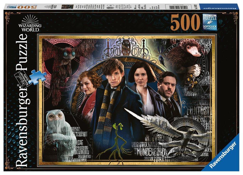 LES ANIMAUX FANTASTIQUES - Puzzle 500P - Les Crimes de Grindelwald