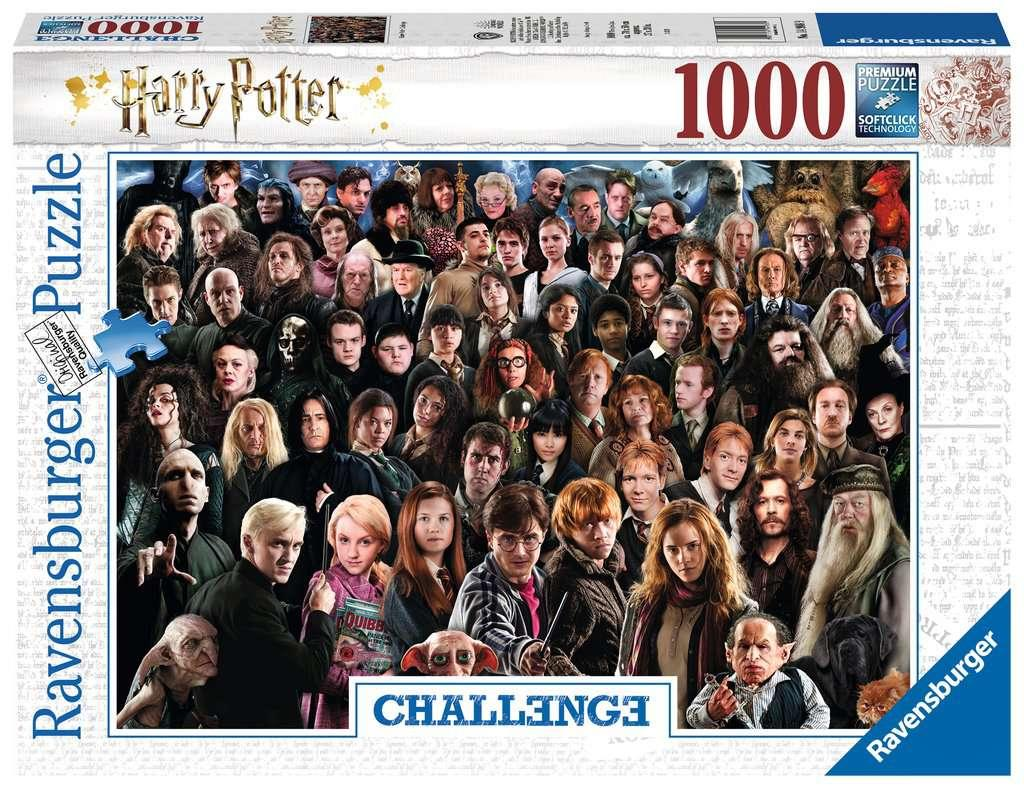 HARRY POTTER - Puzzle Challenge 1000P_1
