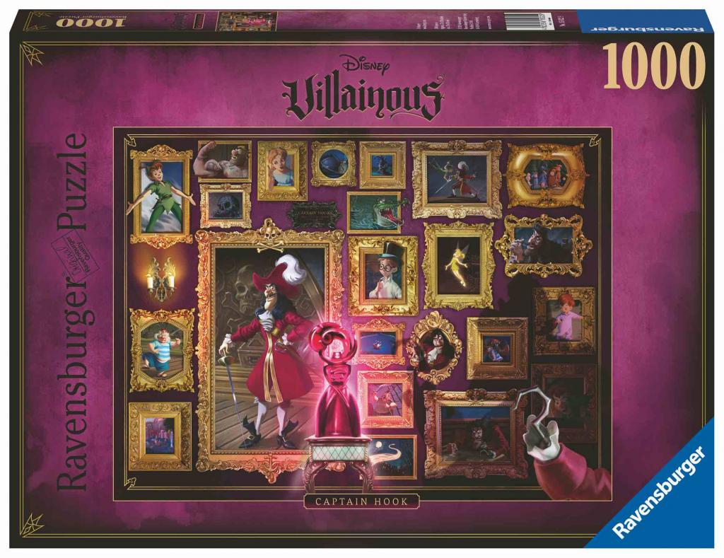 DISNEY - Puzzle Villainous 1000P - Captain Hook