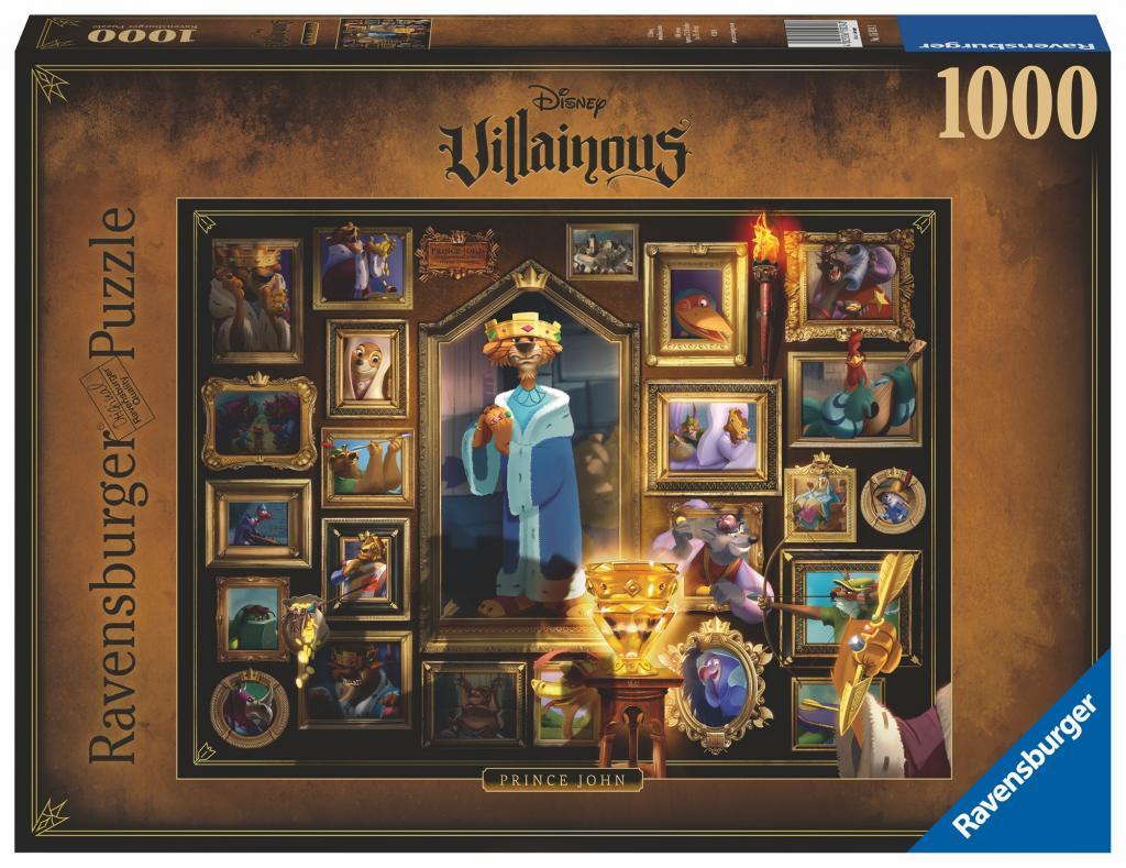 DISNEY - Puzzle Villainous 1000P - Prince John
