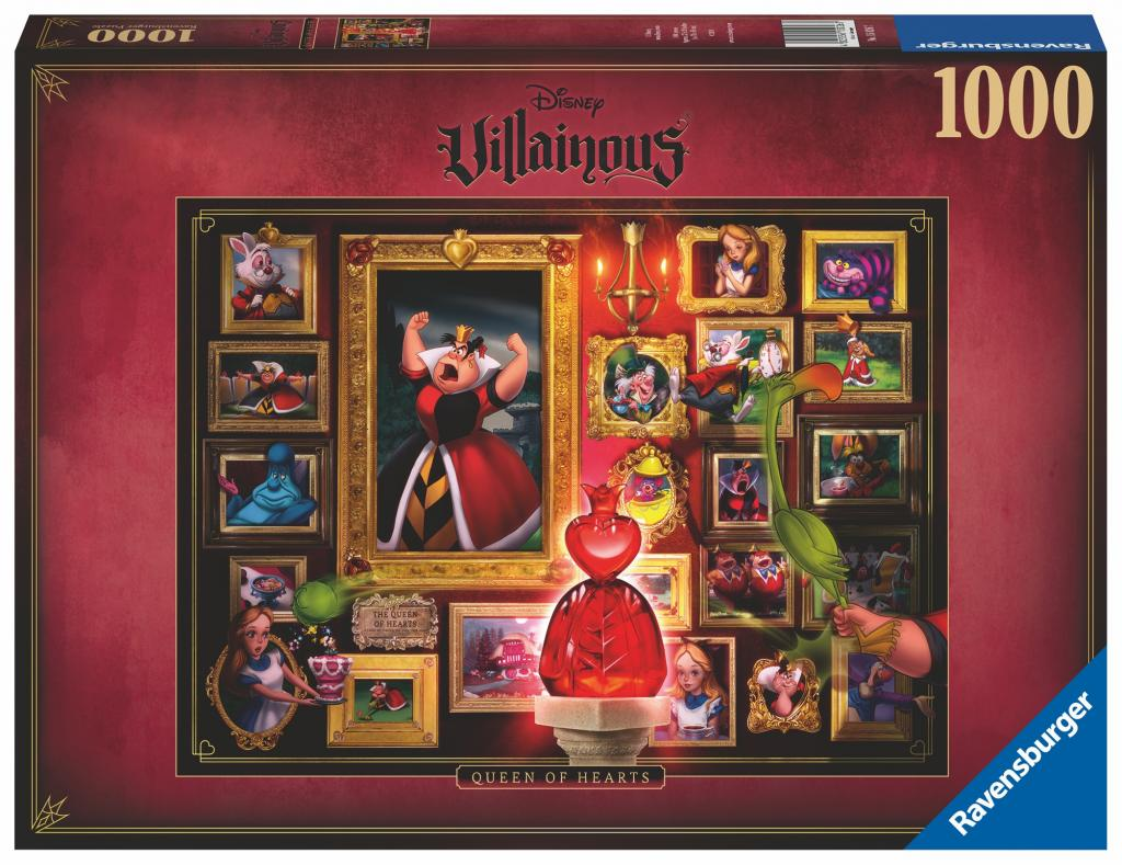 DISNEY - Puzzle Villainous 1000P - Queen of Hearts