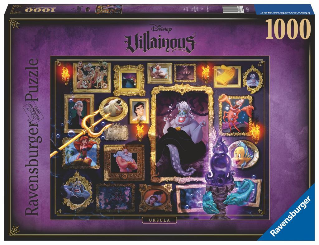 DISNEY - Puzzle Villainous 1000P - Ursula