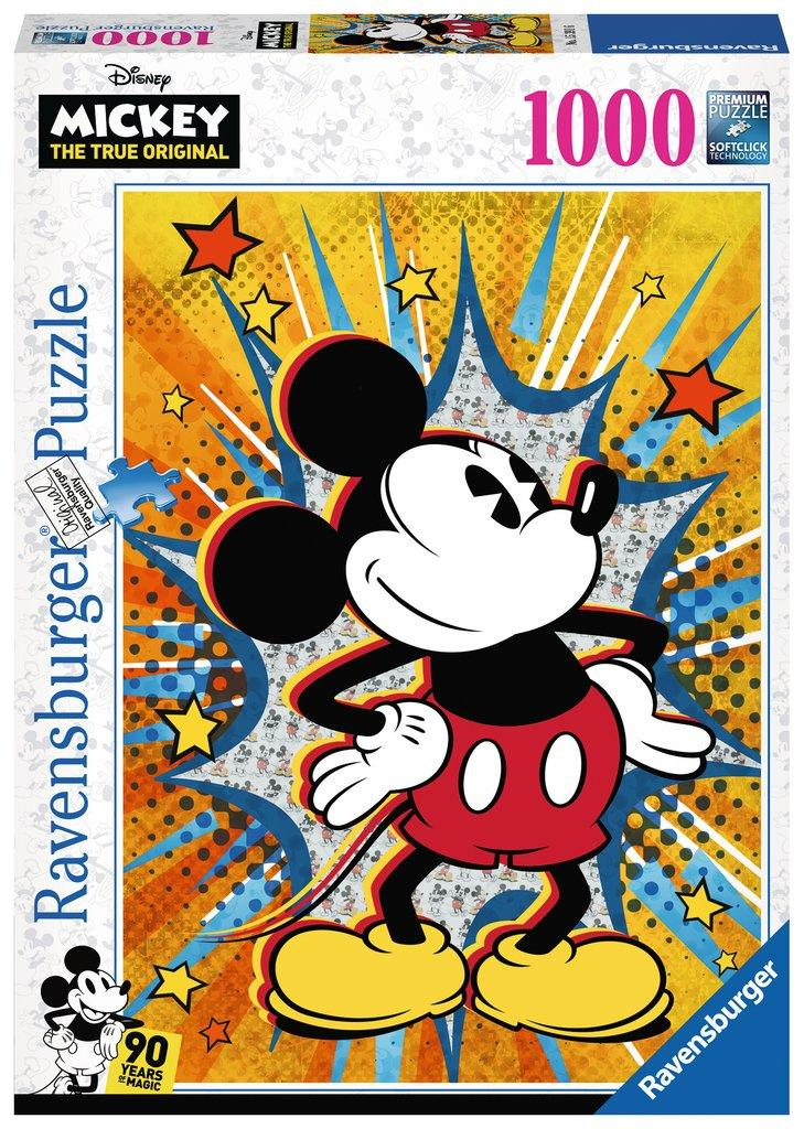 DISNEY - Puzzle 1000P - Retro Mickey