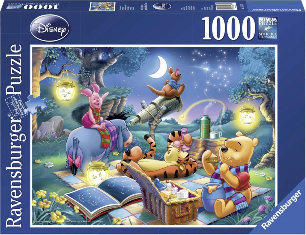 DISNEY - Puzzle 1000P - Winnie L'ourson