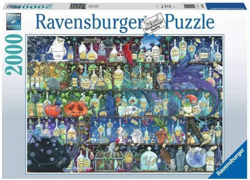 FANTASIA - Puzzle 2000P - L'étagère à potions