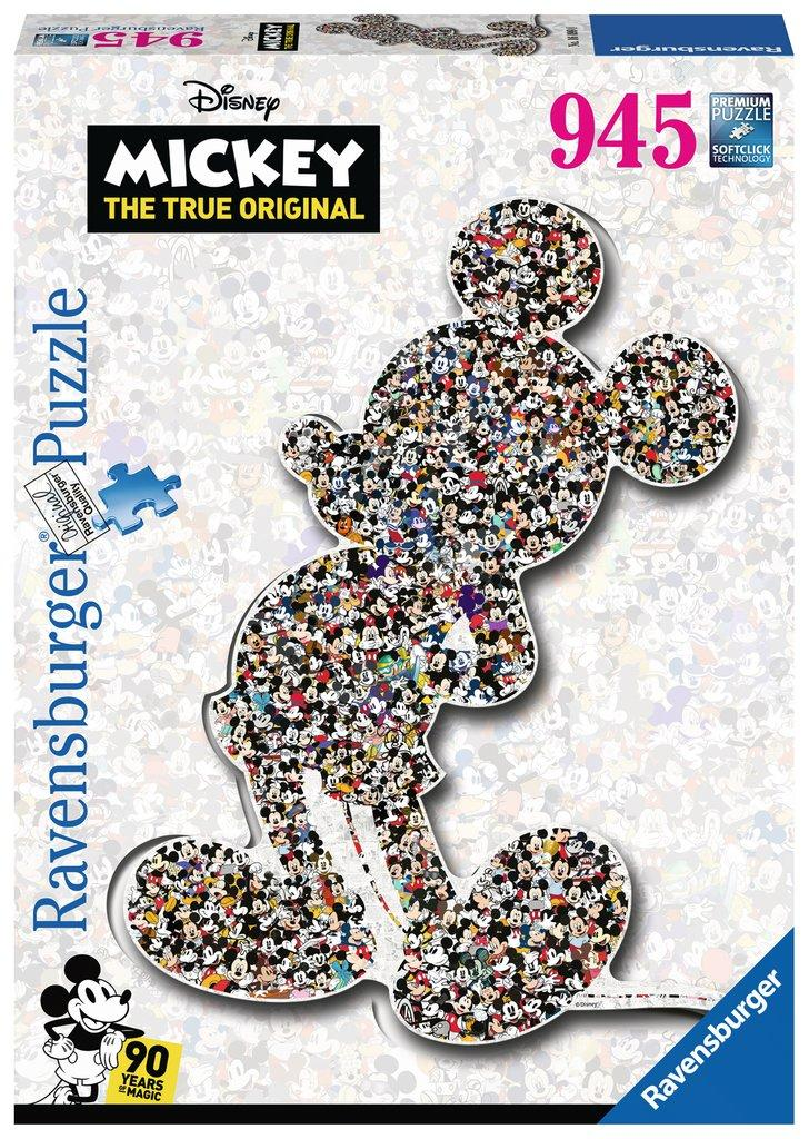 DISNEY - Puzzle 945P - Shaped Mickey