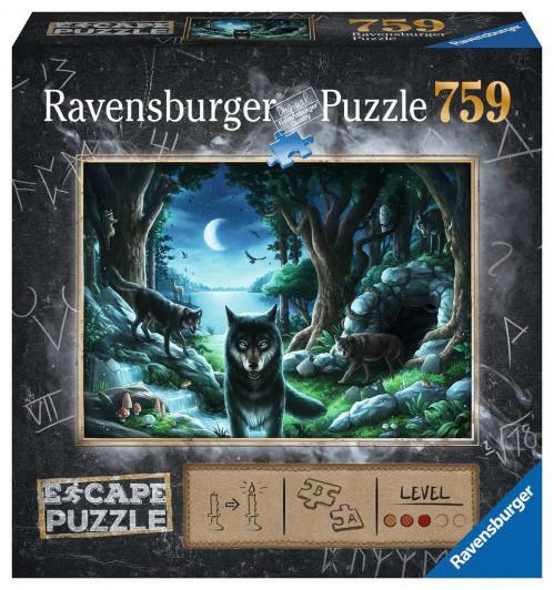 ESCAPE PUZZLE 07 - Puzzle 759P - Histoires de Loups