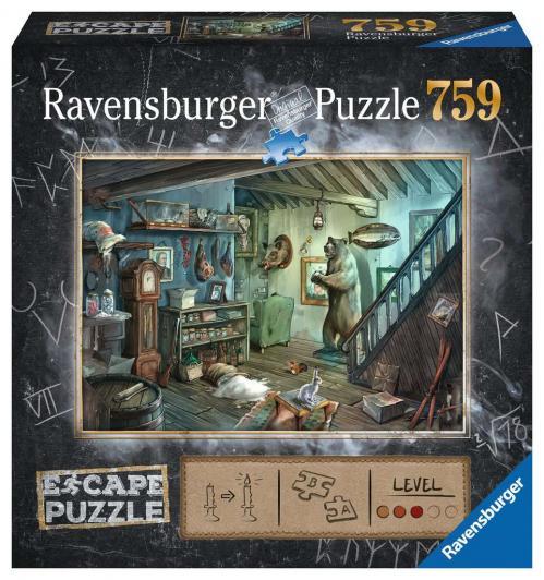 ESCAPE PUZZLE 08 - Puzzle 759P - La Cave de la Terreur