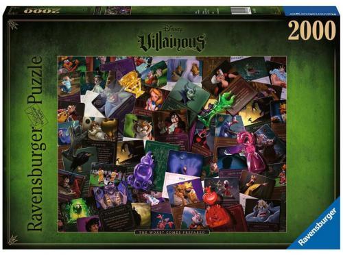 DISNEY - Puzzle 2000P - All Vilains