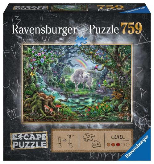 ESCAPE PUZZLE 09 - Puzzle 759P - La Licorne