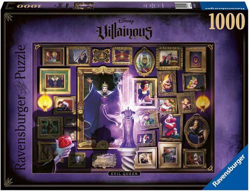 DISNEY - La méchante Reine-Sorcière - Puzzle Villainous 1000P