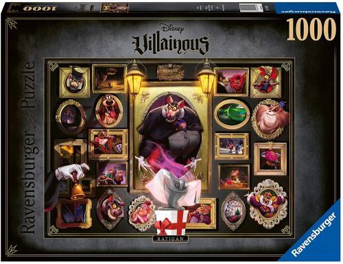 DISNEY - Ratigan - Puzzle Villainous 1000P
