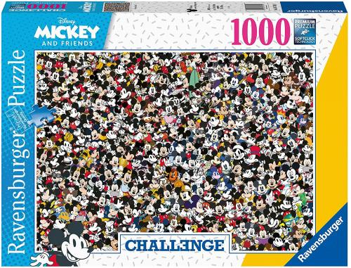 DISNEY - Puzzle Challenge 1000P - Mickey and Friends