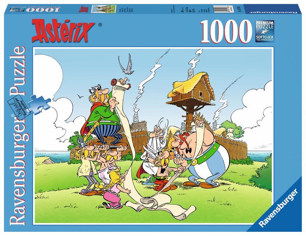 ASTERIX - Puzzle 1000P - Le Papyrus de Ceasar