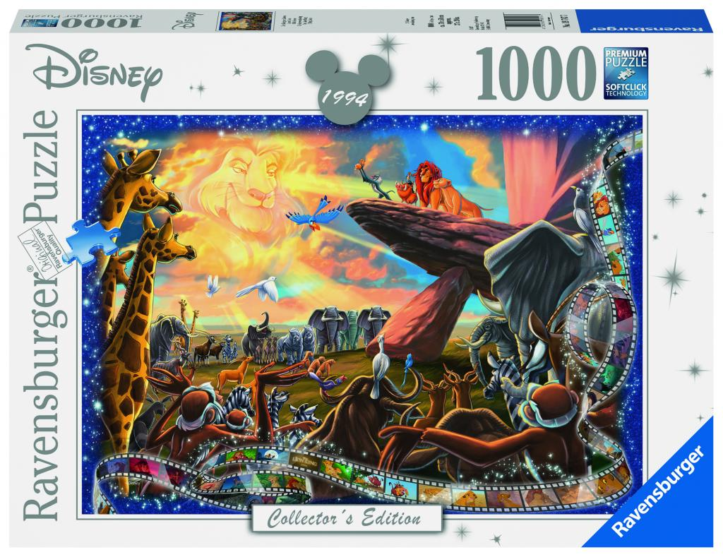 DISNEY - Puzzle Collector's Edition 1000P - The Lion King_2