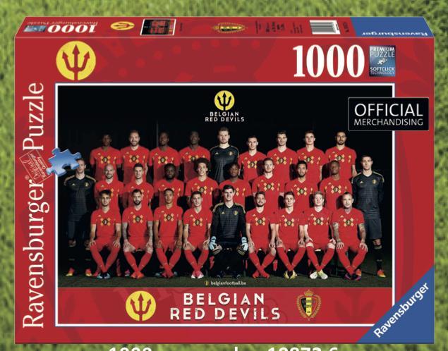 BELGIAN RED DEVILS 2018 - Puzzle 1000 Pces